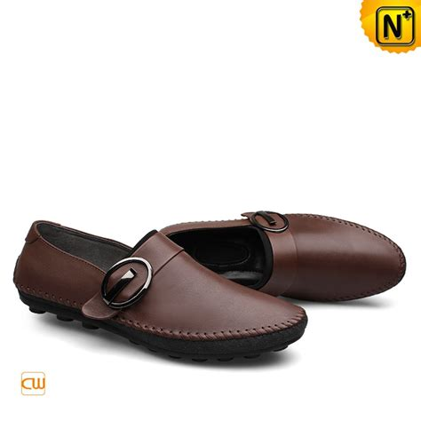 mens leather gommino driving shoes slippers cw740379