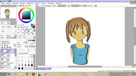 tool sai bahasa indonesia cara memakai paint tool sai secara sederhana otaku indonesia
