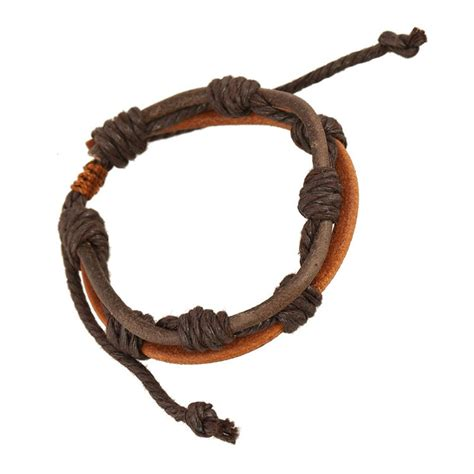 Handmade Mens Braided Leather Bracelets - s bracelet braided leather bracelets handmade string