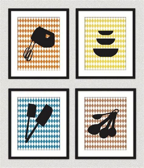 image gallery modern kitchen wall art 10 fun and creative kitchen wall decor ideas rilane