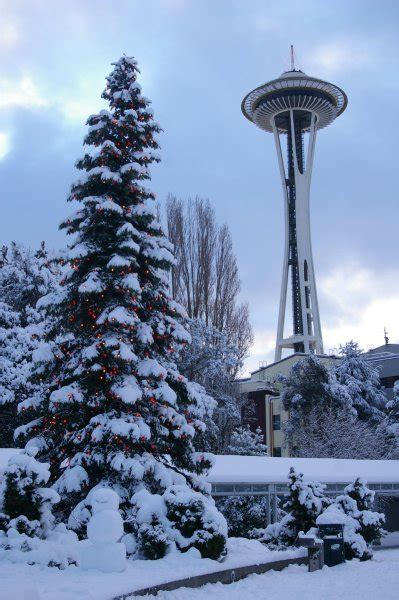 happy holidays from seattle photo