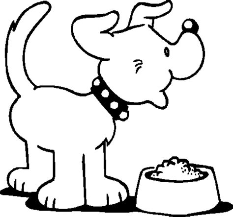 dog treat coloring page dog pictures for kids to color coloring home