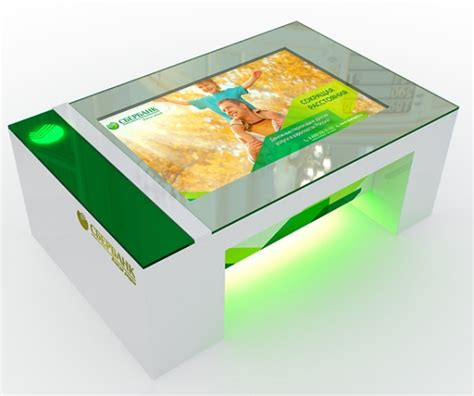 multitouch interactive coffee table is a class apart with