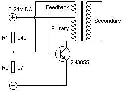 driver transistor for 2n3055 single transistor flyback driver