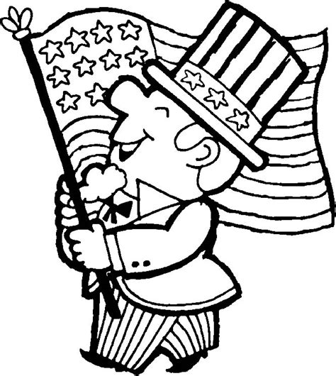 4th of july coloring pages allkidsnetwork com