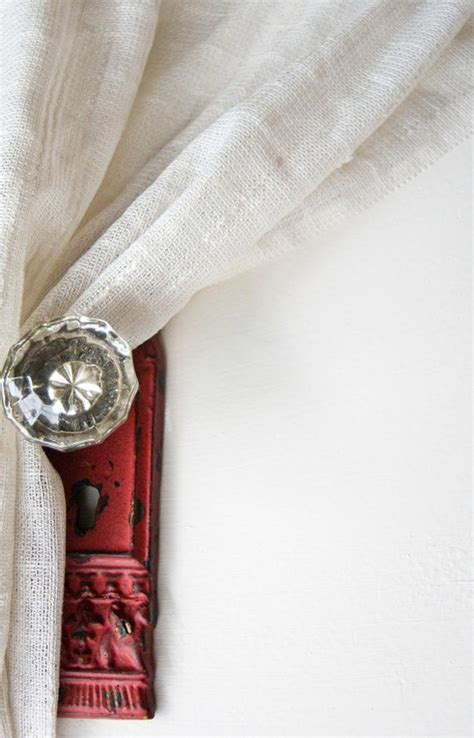 curtain tie back knobs diy projects dreaming of june