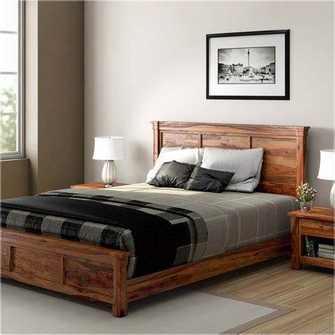 modern farmhouse 7 solid wood bedroom furniture set