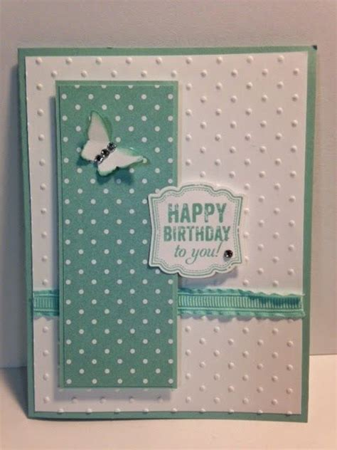 rubber sting cards ideas label birthday card stin up rubber sting