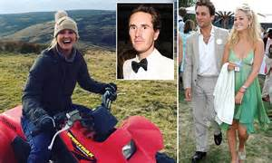 lady melissa percy frolicks with otis ferry on quad bikes news latest headlines photos and videos daily mail online