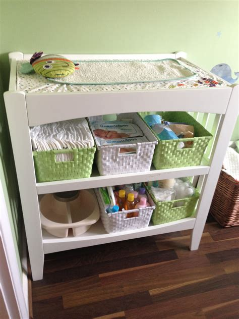 Baby Changing Table Organizer Baby Change Station Storage And Changing Table With Lots Of Room For All The Necessities