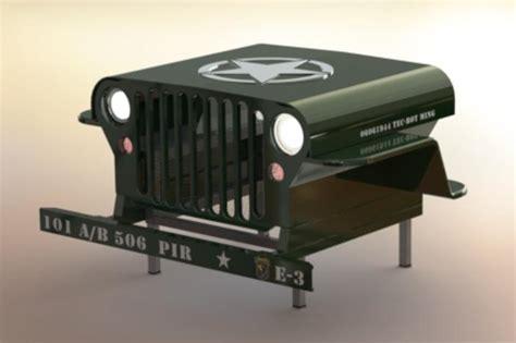 Jeep Desk Computer Desk Bar Table With Cooler Storage Solidworks