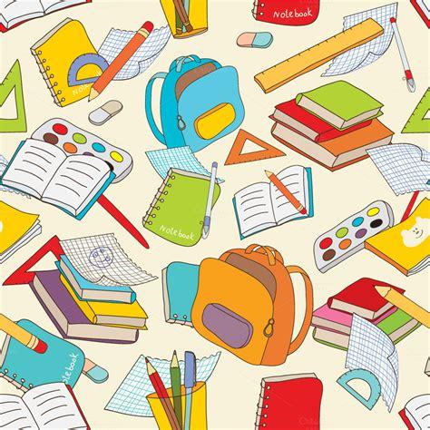 pattern paper school back to school illustrations on creative market