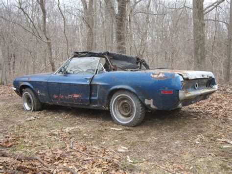 1968 ford mustang convertible for sale 1968 ford mustang convertible project sale