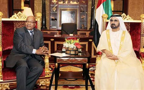 mohammed zuma stress peace stability emirates