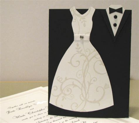 wedding dress template for cards nutmeg creations wedding card and gift packaging