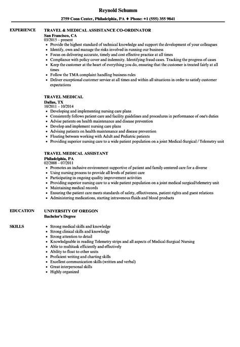 travel experience on resume resume ideas