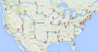 make trip map computing the optimal road trip across the u s dr