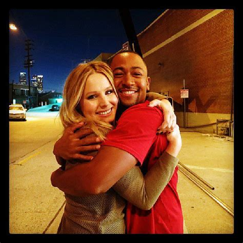 kristen bell instagram kristen bell and percy daggs iii hugged it out when they