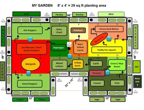 How To Layout A Garden 1000 Images About Companion Planting On Pinterest