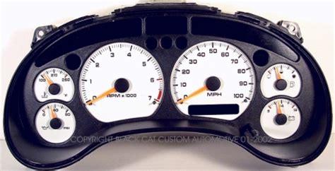 auto manual repair 2001 chevrolet blazer instrument cluster black cat custom automotive chevy s10 xtreme blazer gauge faces led lighting kit