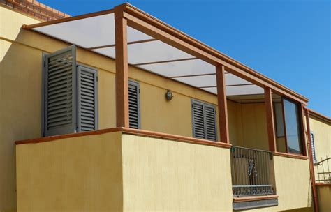 coperture terrazzi roma coperture in policarbonato per terrazzi idee di design