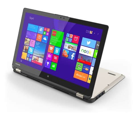 toshiba radius pw   convertible laptop