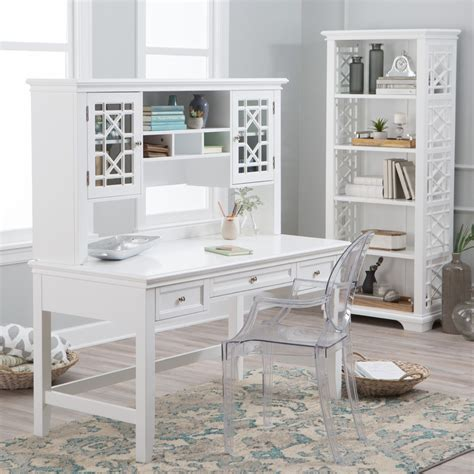 white writing desk with hutch belham living florence writing desk with optional hutch
