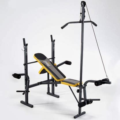 starter weight bench set pure fitness and sports new everlast weight benches