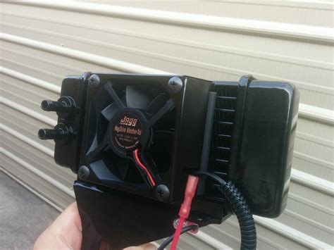 jagg cooler with fan jagg low mount fan assisted cooler installation page