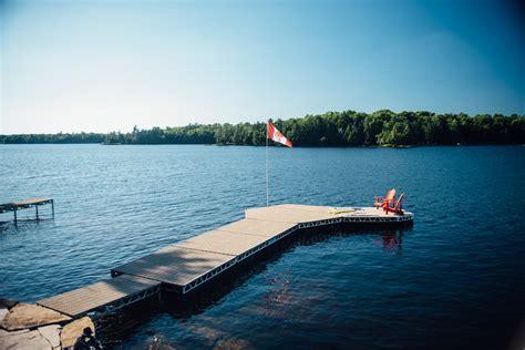boat dock kit 8 x16 floating dock complete kit canadadocks