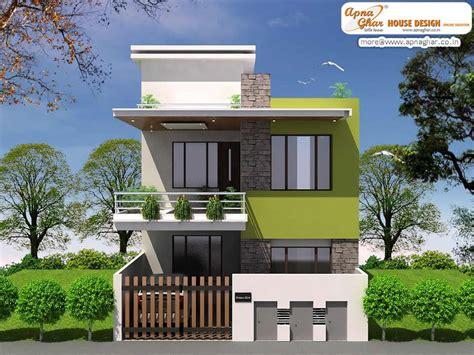 simple duplex house hd images modern duplex house design