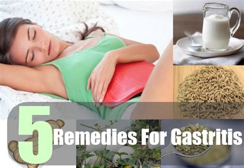 5 home remedies for gastritis treatments cure