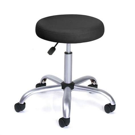 Doctor Caressoft Chair Stool Lab Office Furniture by Easy Movement Caressoft Doctor S Stool In Black B240 Bk