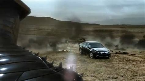 thor movie vehicle acura commercial featuring the destroyer from thor