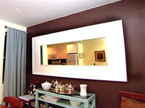 Paint Ideas For Dining Room weekend project build a mirror frame hgtv