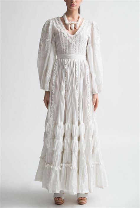 Vintage Cotton Wedding Dresses by White Cotton Dresses