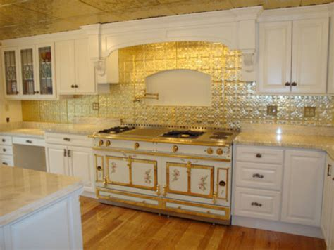 kitchen backsplash tin tin backsplash kitchen backsplashes eclectic kitchen