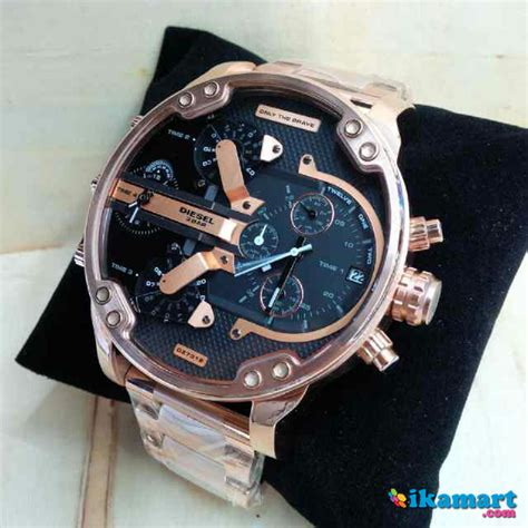 Diesel Keren jam keren sporty diesel 4 time premiumm jam tangan