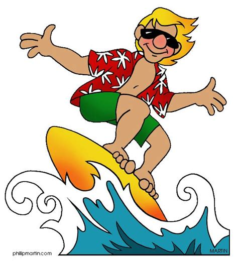 surfing clipart surfer clipart surfing pencil and in color surfer