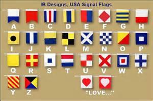 happy birthday signal flag banner and navy photo ib