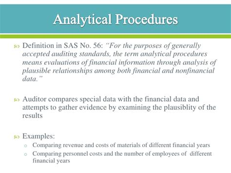 audit procedure template audit procedures