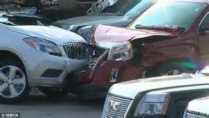 Montrose Buick Gmc Cadillac Pennsylvania Truck Driver Crashed Into Car Dealership