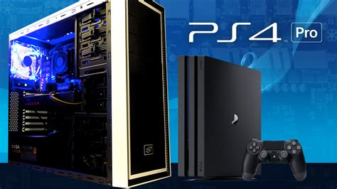 to pc we built a pc using ps4 pro specs how does it perform