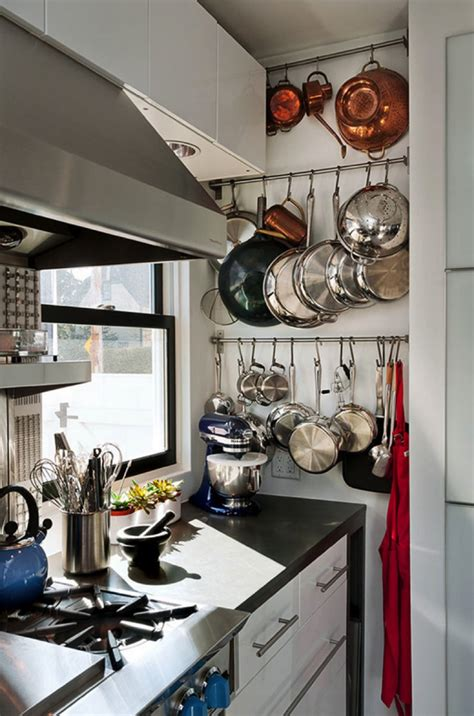 Kitchen Shelves For Pots And Pans by Kitchen Pot Shelves And Hanging Pot And Pans