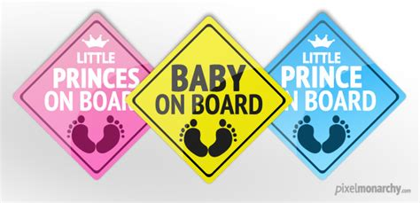 on board free psd baby on board badge free psd file pixel monarchy
