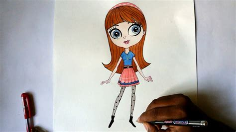 how to a pet how to draw blythe from littlest pet shop