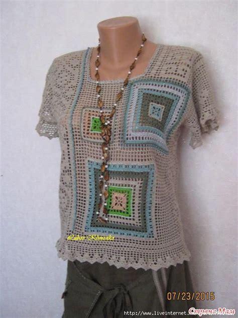 ver a travs de la blusa ganchillo blusa patrones tallas grandes de 2535 mejores im 225 genes de blusas t 250 nicas a crochet en