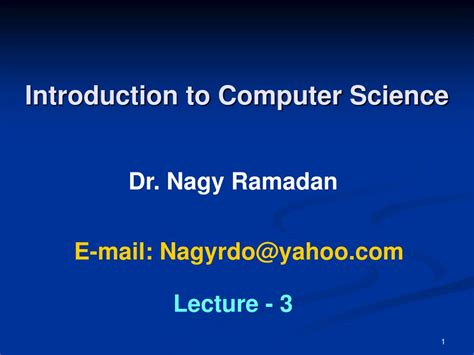 Computer Science Css Intro ppt introduction to computer science powerpoint presentation id 787029