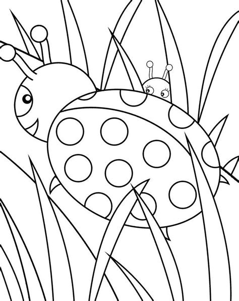 coloring book ladybug free printable ladybug coloring pages for