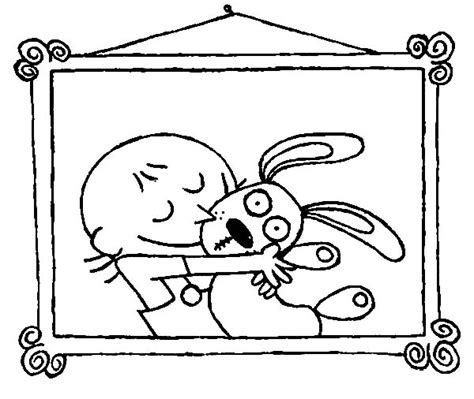 Trixie Coloring Pages Knuffle Bunny Coloring Pages